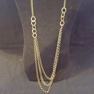Paparazzi Brass Necklace Set